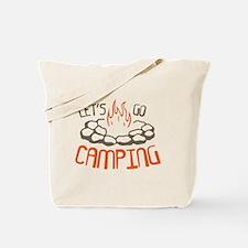 Cute Outdoor camping Tote Bag