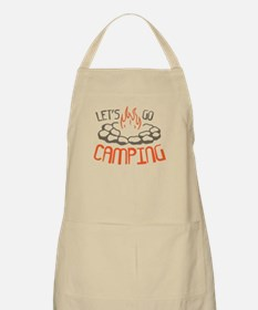 Lets Go Camping Apron