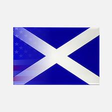 Scottish Flag Stars and Stripes Magnets