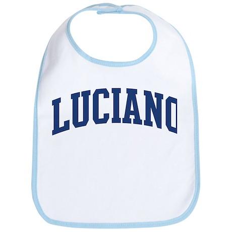 LUCIANO design (blue) Bib