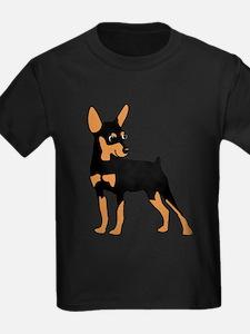 Cartoon Miniature Pinscher 1 T-Shirt