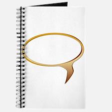 Blank Speech Bubble Journal