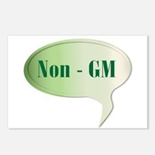 Non GM Speech Bubble Postcards (Package of 8)