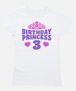 Cute 3rd birthday Girl's Tee