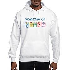 Grandma of Twins Hoodie
