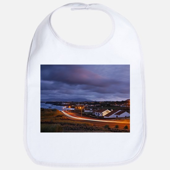Village at nightfall Bib