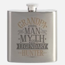 Grandpa Hunter Flask