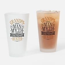 Grandpa Hunter Drinking Glass