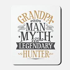 Grandpa Hunter Mousepad