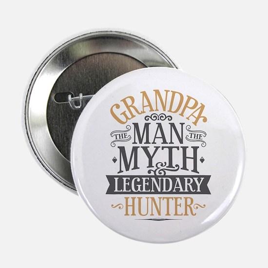 """Grandpa Hunter 2.25"""" Button"""