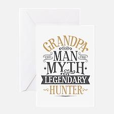 Grandpa Hunter Greeting Card