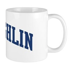 MCLAUGHLIN design (blue) Mug