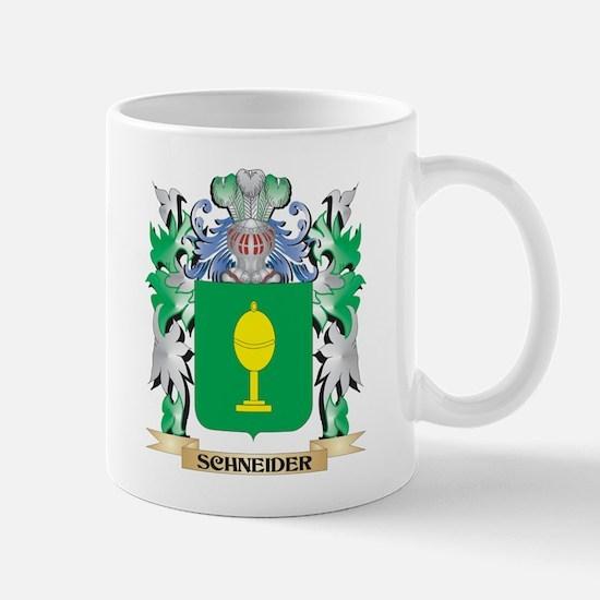 Schneider Coat of Arms - Family Crest Mugs