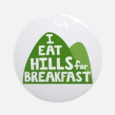 Hills Round Ornament