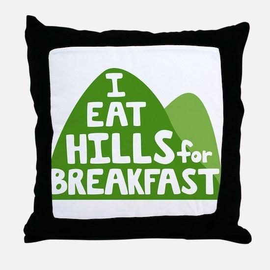 Hills Throw Pillow