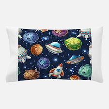 Cartoon Space Pillow Case