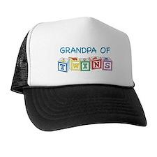Grandpa of Twins Trucker Hat