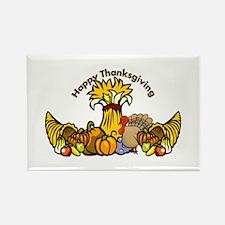 Thanksgiving Pumpkins Rectangle Magnet