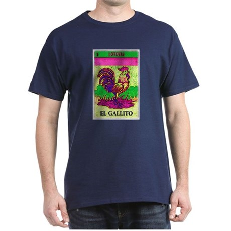 Loteria Rooster Dark T-Shirt
