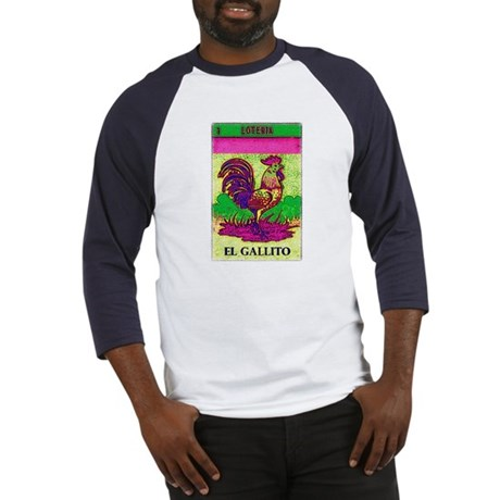 Loteria Rooster Baseball Jersey
