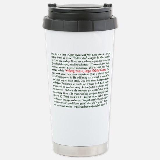 Happy Holiday's Slogan Christ Mugs