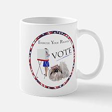 Pekingese Vote Mugs