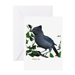 Stellars Jay Greeting Card