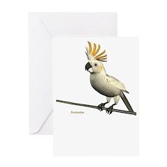 Cockatoo Greeting Card