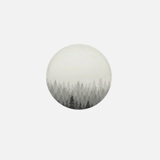 Gray Forest Mini Button