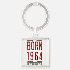 Born 1964 Chest Keychains