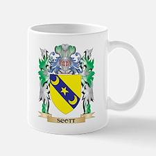 Scott Coat of Arms - Family Crest Mugs