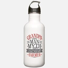 Grandpa Farmer Water Bottle