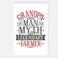 Grandpa Farmer Postcards (Package of 8)