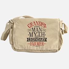 Grandpa Farmer Messenger Bag