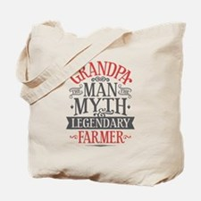 Grandpa Farmer Tote Bag
