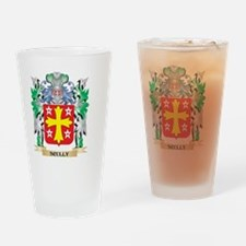 Scully Coat of Arms - Family Crest Drinking Glass
