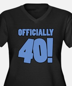 40th Birthday Humor Plus Size T-Shirt