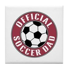 Soccer Dad - Tile Coaster