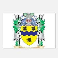 Seeley Coat of Arms - Fam Postcards (Package of 8)