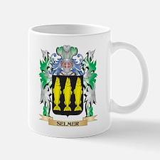 Selmer Coat of Arms - Family Crest Mugs