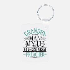 Grandpa Preacher Keychains