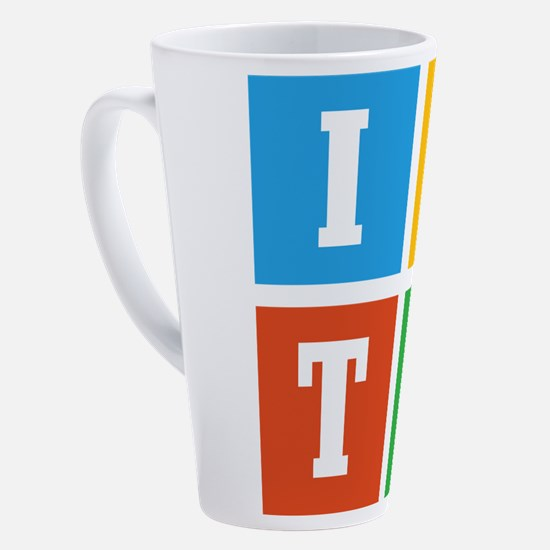 Cute Teamwork 17 oz Latte Mug
