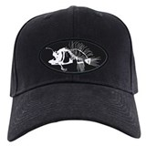 Fish bones Baseball Cap with Patch