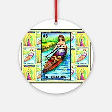 La Chalupa & Guadalupe Ornament (Round)