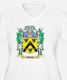 Shaw- Coat of Arms - Family Cres Plus Size T-Shirt