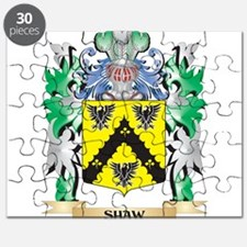 Shaw- Coat of Arms - Family Crest Puzzle
