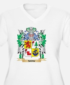 Shaw Coat of Arms - Family Crest Plus Size T-Shirt