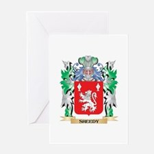Sheedy Coat of Arms - Family Crest Greeting Cards