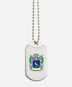 Sheehan Coat of Arms - Family Crest Dog Tags