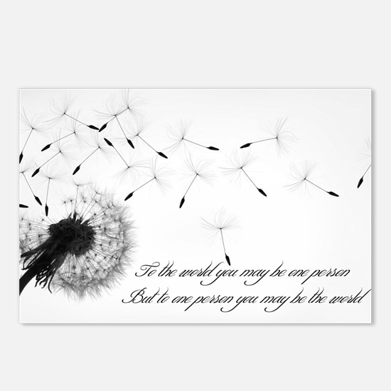 Dandelion Inspiration Postcards (package Of 8)